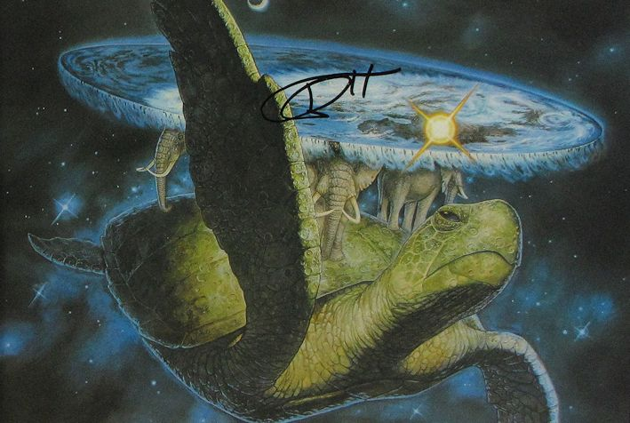 Terry Pratchett SIGNED